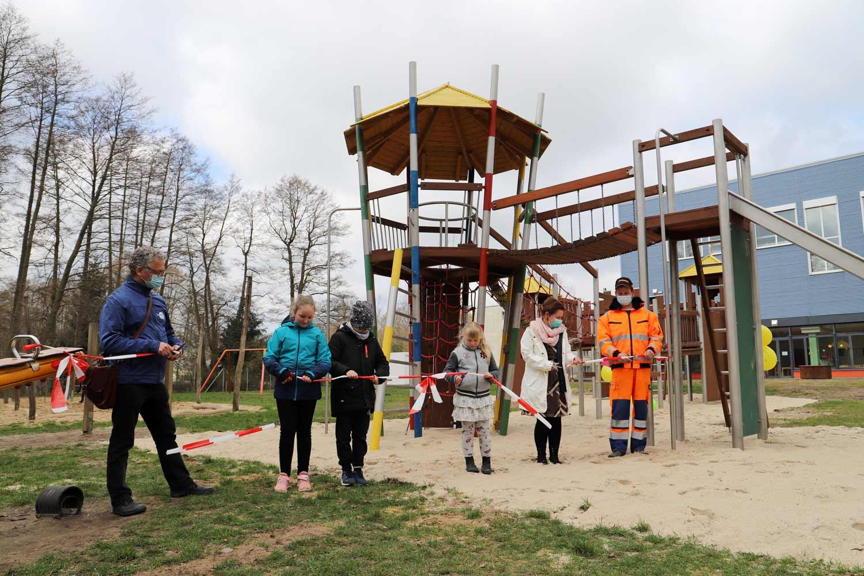 Spielplatz, ITB Lehnin, Schulcampus Lehnin, Lehnin