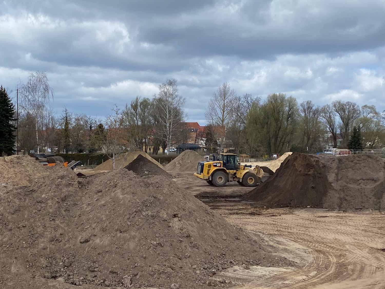 Baustelle Freilichtbühne, LAGA Beelitz, Beelitz, LAGA 2022