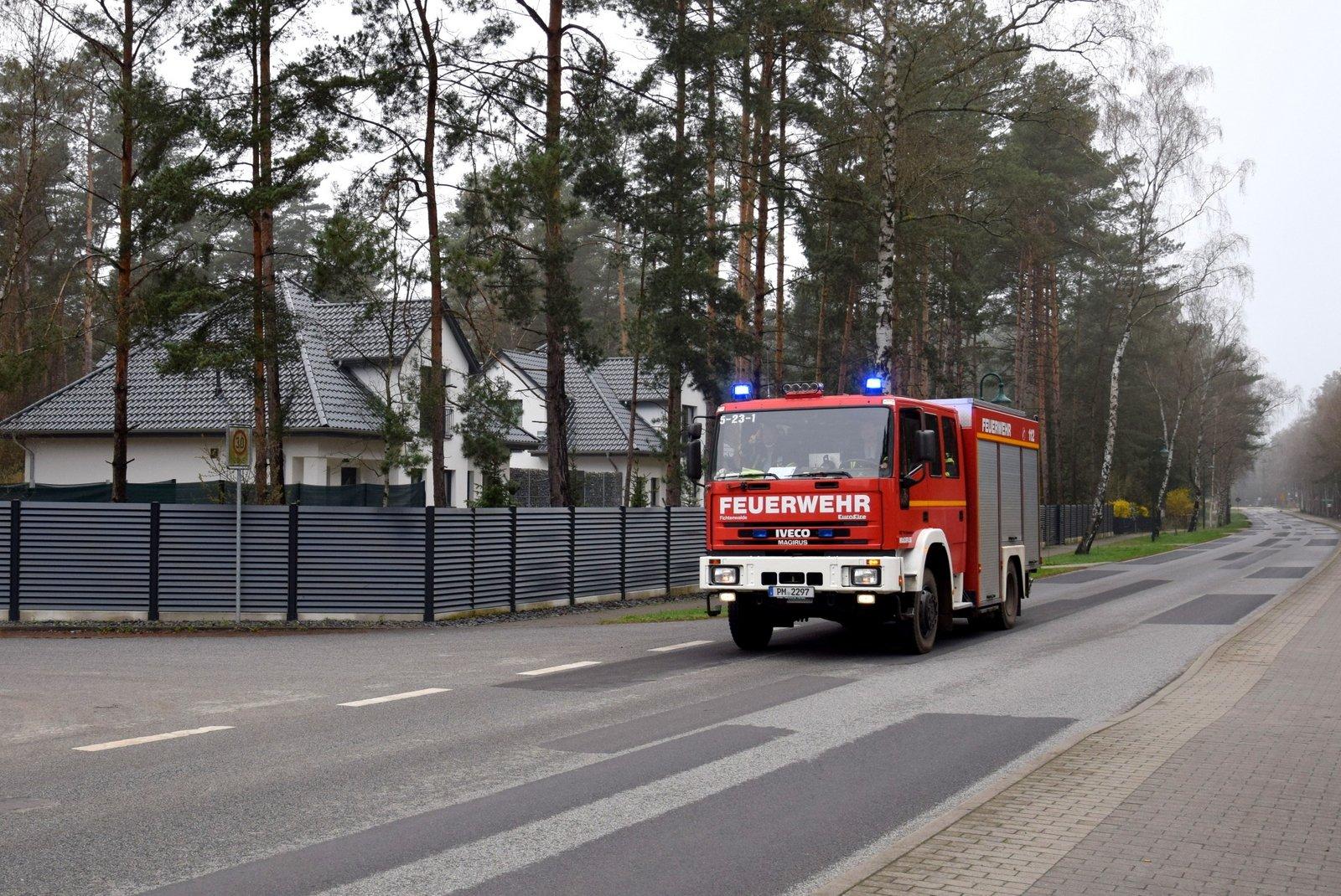 Gasalarm  in Borkwalde