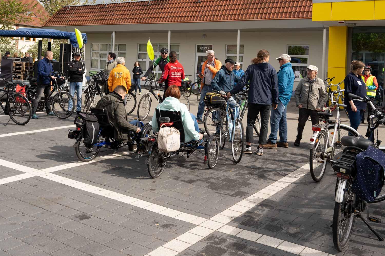 Brück, Planebruch, Golzow, Fahrradweg, Demo