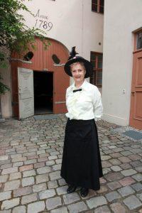 Isolde Komm, Beelitz, Stadtführung