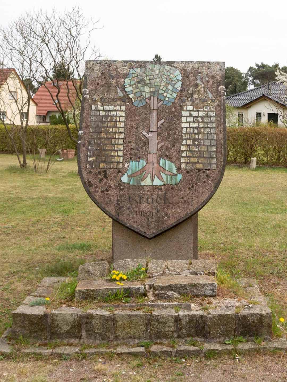 Wappen-Brueck-Poster