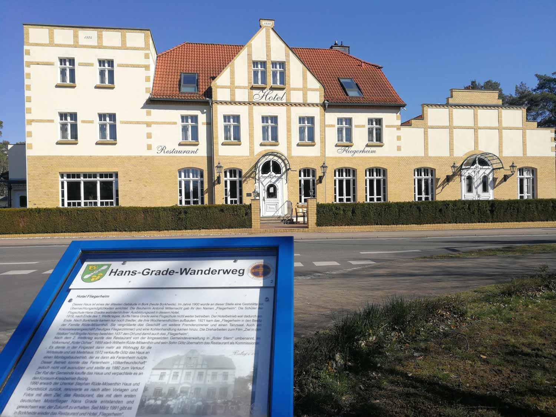 Borkheide, Fliegerheim