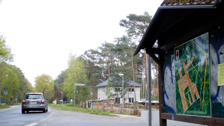 Fichtenwalde-Ortseingang