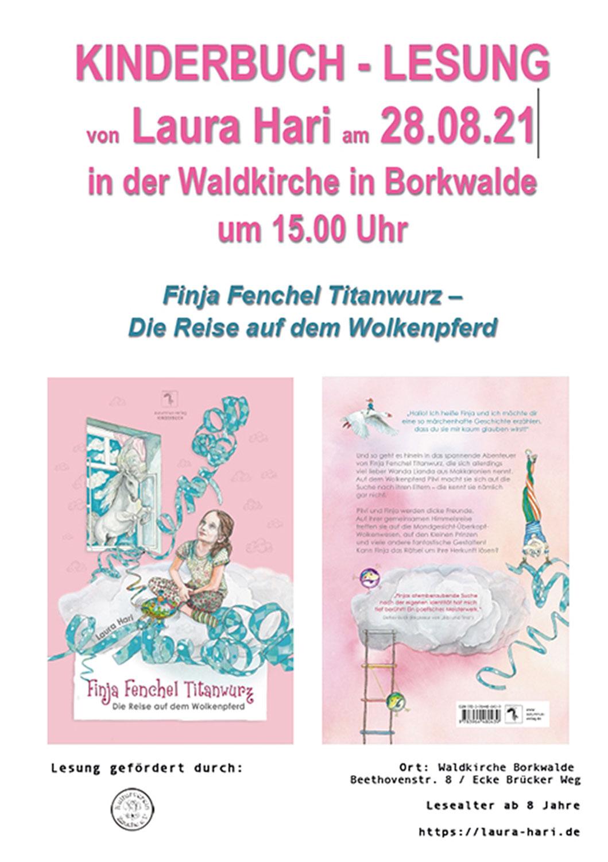 Plakat-Laura-Hari-Borkwalde