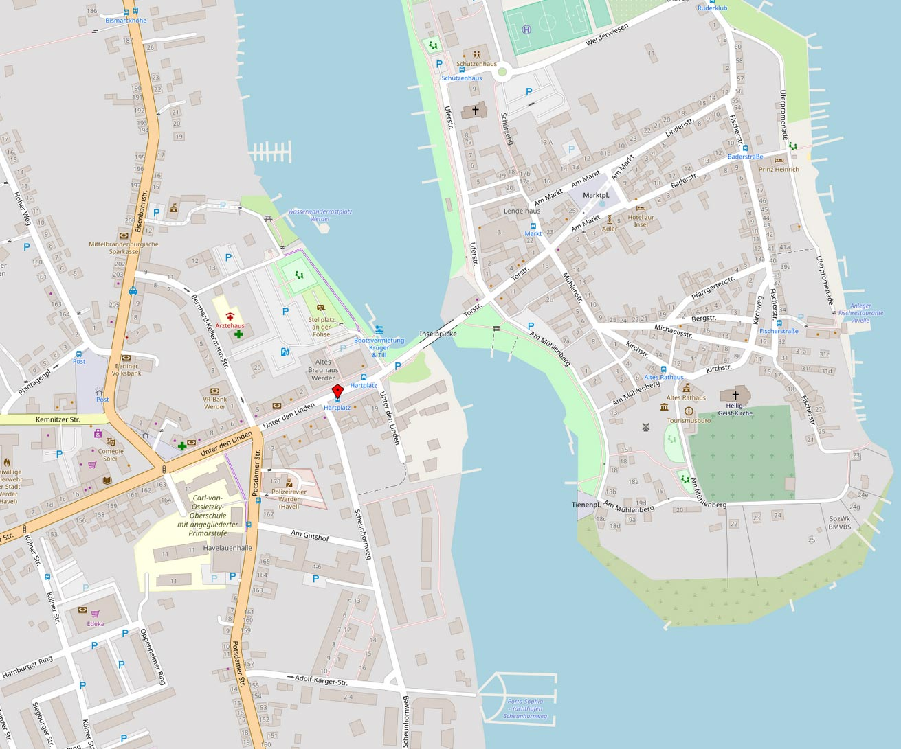 Karte-Werder