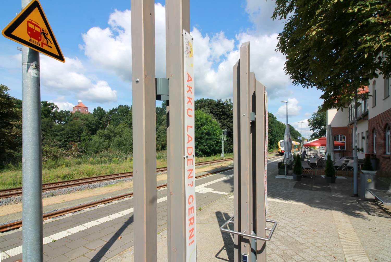 Ladestation, Bahnhof Beelitz